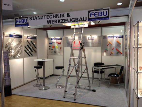 FEBU auf der Zulieferermesse Maschinenbau in Siegen
