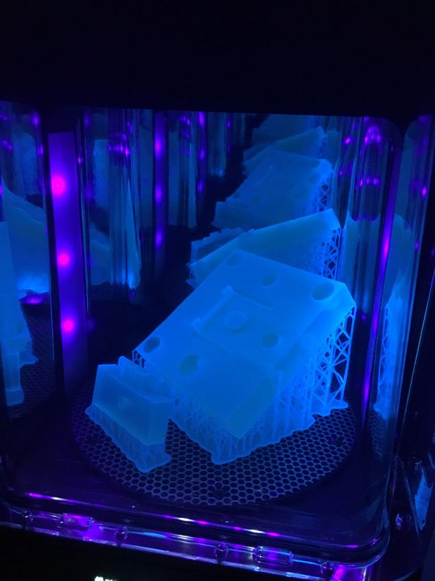 3D printers at work