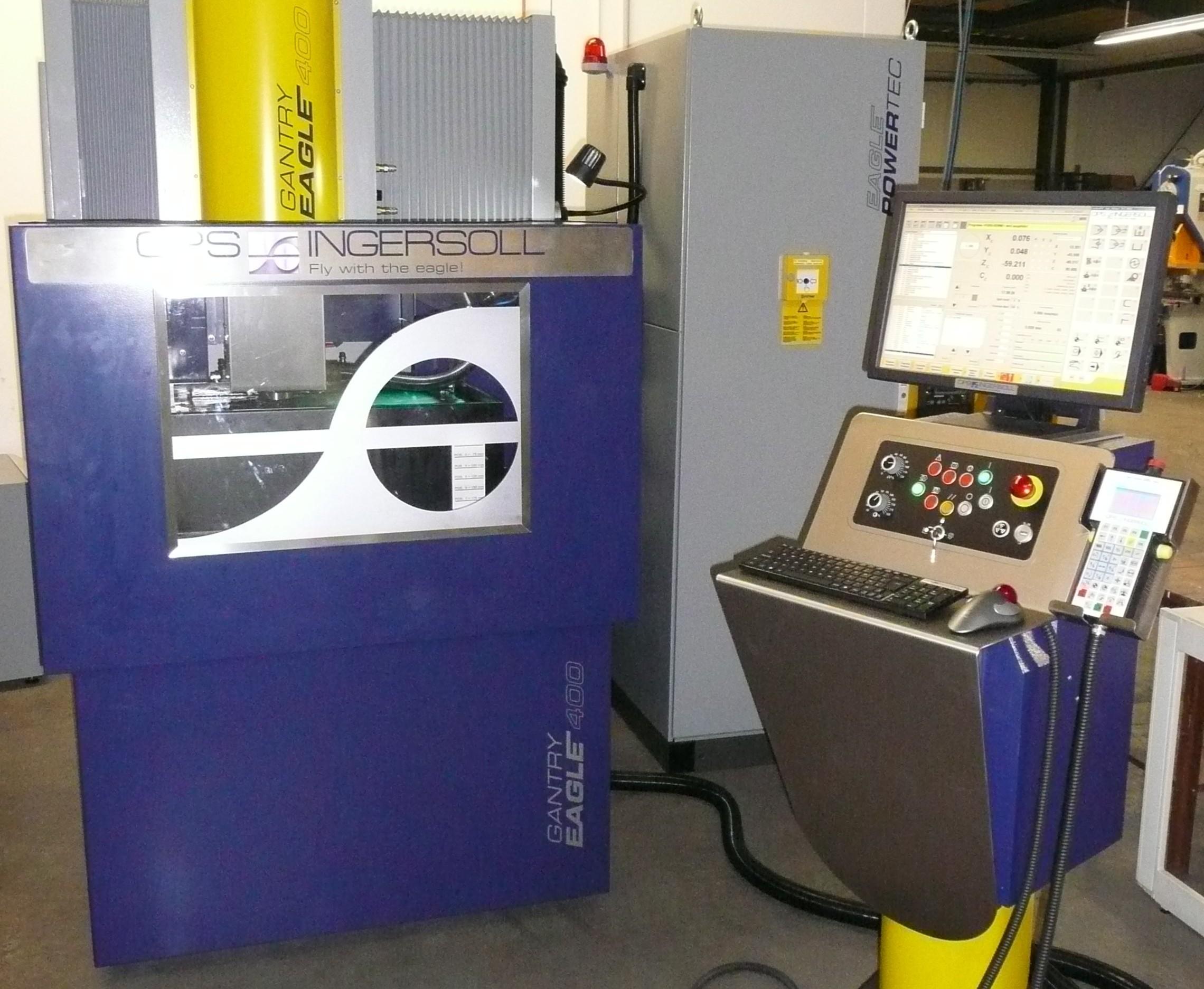 New EDM machine | FEBU - Horst Fey toolmaking, stamping and